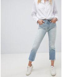 Polo Ralph Lauren - Paint Splat Raw Hem Jeans - Lyst