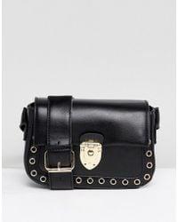 Yoki Fashion - Cross Body Bag With Clasp Closure - Lyst