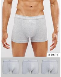 French Connection   3 Pack Boxers   Lyst