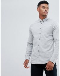 Blend - Brushed Cotton Shirt - Lyst