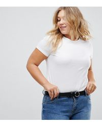 ASOS - Jeans Belt With Circle & Triangle Detail Buckle Water Based - Lyst