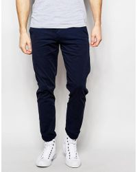 SELECTED - Chinos In Skinny Fit - Lyst
