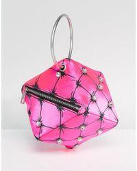 ASOS - X Mary Benson Cube Clutch Bag - Lyst