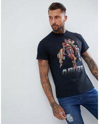 Abuze London - Abz London Bus Bot Print T-shirt - Lyst
