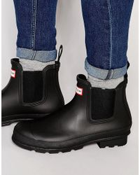 Hunter | Original Chelsea Wellington Boots | Lyst