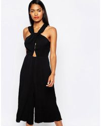 Shakuhachi - Date Night Draped Jumpsuit - Lyst