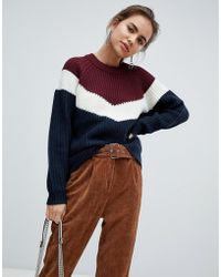 B.Young - Colourblock Jumper - Lyst