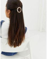Pieces - Male Circle Hair Clip - Lyst