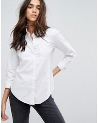 Abercrombie & Fitch - Fitted Oxford Shirt - Lyst