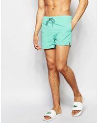 Pull&Bear - Swim Shorts In Mint Green - Lyst