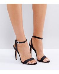 ASOS - Hopeful Jewelled Buckle Heeled Sandals - Lyst