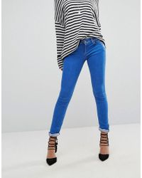 Replay - Luz Mid Rise Skinny Jeans - Lyst