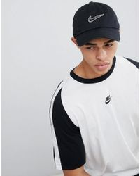 Nike - Swoosh Cap In Black 943091-010 - Lyst