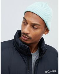6a7ddf3f576514 ASOS Fisherman Beanie In Tobacco in Brown for Men - Lyst