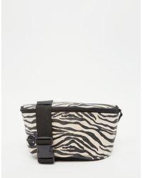 Mi-Pac - Canvas Fanny Pack In Zebra - Lyst
