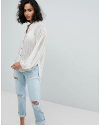 Free People - Headed To The Highlands Shirt - Lyst