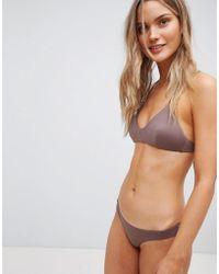 RVCA - Solid Cheeky Bikini Bottom - Lyst