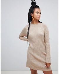 Mango - Jumper Dress Ribbed - Lyst