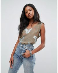 Soaked In Luxury - Chinoiserie Print Top - Lyst