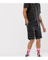 1ad8bad9dc Sixth June Skinny Denim Shorts in Black for Men - Lyst