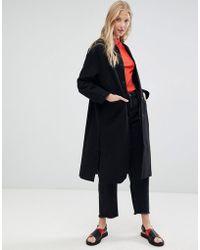 d.RA - Leanne Tailored Longline Coat - Lyst