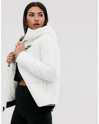 Nike Chaqueta de plumas blanca - Blanco