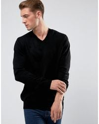 French Connection - V Neck Jumper - Lyst