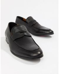 ALDO - Umiasen Penny Loafers In Black Leather - Lyst