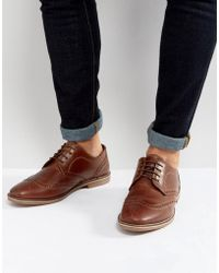 Red Tape | Brogues Tan Leather | Lyst