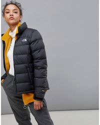 The North Face - Women's Nuptse 2 Jacket In Black - Lyst