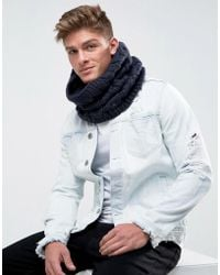 French Connection - Cable Snood - Lyst
