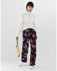 B.Young - Palm Print Trousers - Lyst
