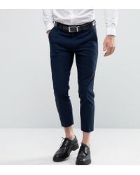 Only & Sons | Skinny Cropped Trousers | Lyst