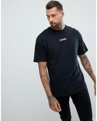 The Couture Club - T-shirt In Black With Racer Logo - Lyst