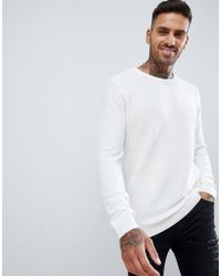 Pull&Bear - Jumper In White - Lyst
