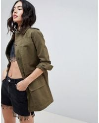 Missguided - Utility Jacket - Lyst