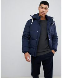 Jack & Jones - Originals Padded Jacket With Removable Hood - Lyst