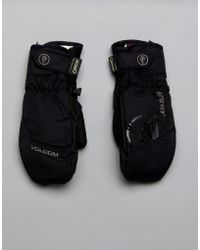Volcom - Snow Camo Gortex Mitt Gloves - Lyst