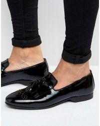 House Of Hounds - Regal Patent Loafers - Lyst