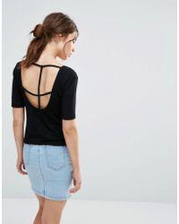 Good Vibes, Bad Daze - Good Vibes Bad Daze Cross Back T-shirt - Lyst