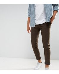 Heart & Dagger - Super Skinny Smart Trousers In Stretch Tweed - Lyst