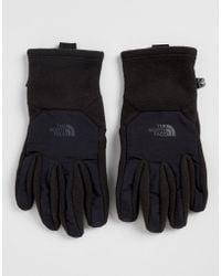 The North Face - Denali Etip Gloves In Black - Lyst