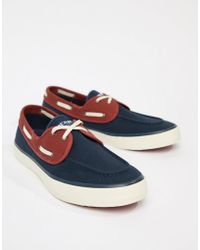 Sperry Top-Sider - Topsider Trainer Boat Shoes In Navy - Lyst