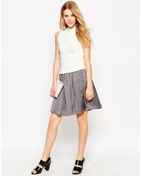 Le Mont St Michel - Gathered Skirt - Lyst
