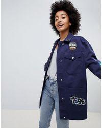 ASOS - Badge Jacket - Lyst