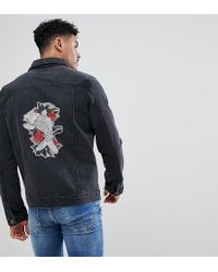 diesel-embroidered-denim-jacket
