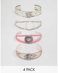 New Look - Bracelet Cuff Pack - Lyst