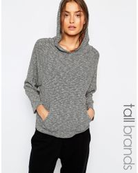 Y.A.S - Melba Slouchy Sweat With Hoody - Lyst
