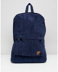 Jack & Jones - Cord Backpack - Lyst