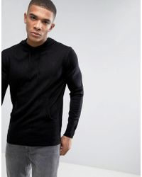 French Connection - Knitted Jumper With Hood - Lyst